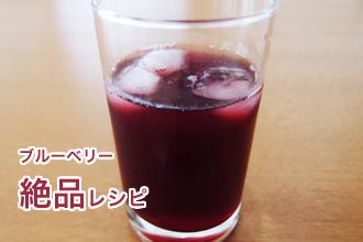 ブルーベリーの絶品レシピ