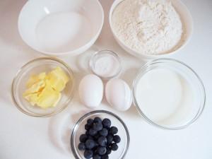 パウンドケーキ材料