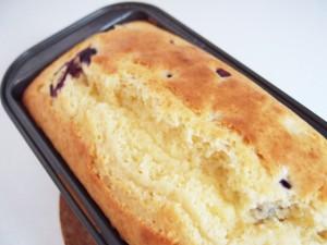 生ブルーベリーのパウンドケーキ